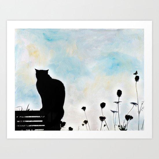 Blue Days Art Print