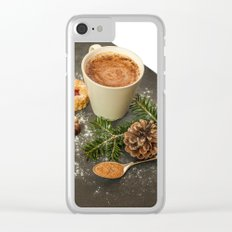 Christmas mood Clear iPhone Case