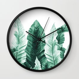 Underwater Leaves Vibes #2 #decor #art #society6 Wall Clock