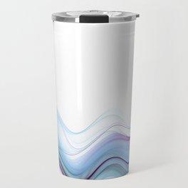 Smoky Waves Travel Mug