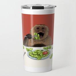 Dieting Monkeys Travel Mug