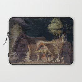 The Cottage of the Dwarves Laptop Sleeve