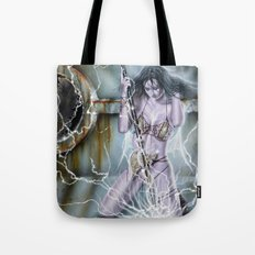 warrior girl 2 Tote Bag