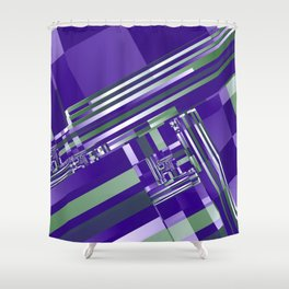 another crazy pattern -104- Shower Curtain
