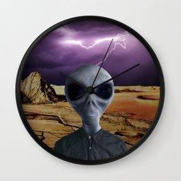 THE TRAVELER Wall Clock