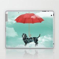 Dachshund chute Laptop & iPad Skin