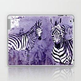 ZEBRAS in E. Africa                                          by Kay Lipton Laptop & iPad Skin