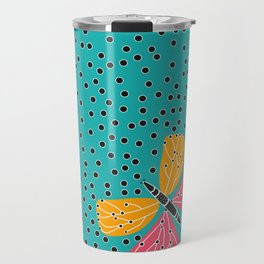 Butterfly with dots Travel Mug