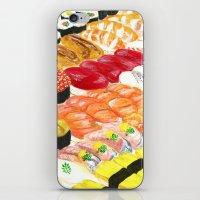 sushi iPhone & iPod Skins featuring sushi by Shihotana