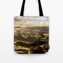 Sky over the Atlantic Ocean Tote Bag