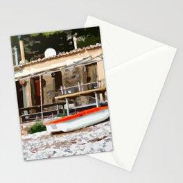 Fishermen's hut in Mallorca Stationery Cards