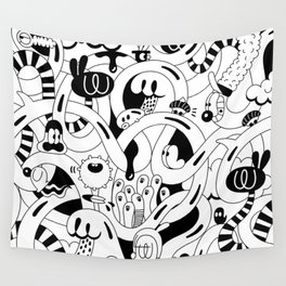 Endless surfing Wall Tapestry