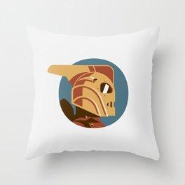 Headgear: Rocketeer Throw Pillow