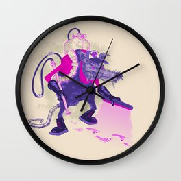 exterMANator Wall Clock