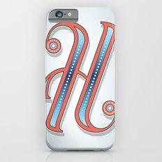 Letter H iPhone 6s Slim Case