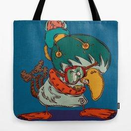 Mecha Bird Tote Bag