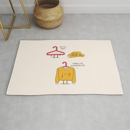 Mutual support Rug