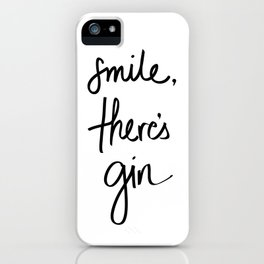 Smile - Gin iPhone Case