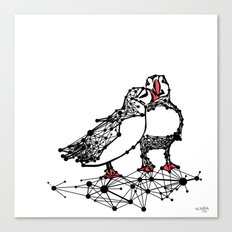 the Puffins Canvas Print