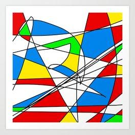 Microsoft Paint Art Print