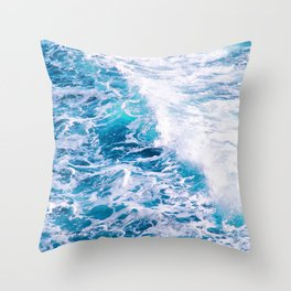 My Inner Sea Throw Pillow