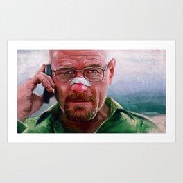 I Won - Walter White - Breaking Bad Art Print