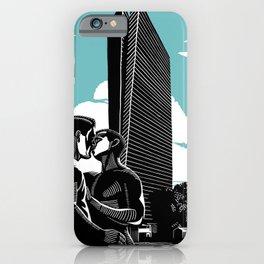 Sarona Aqua iPhone Case