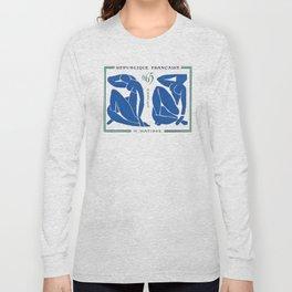 France 1961 The Blue Nudes Henri Matisse Long Sleeve T-shirt