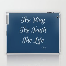 Way, Truth, Life Laptop & iPad Skin