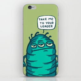 Space Carrot iPhone Skin