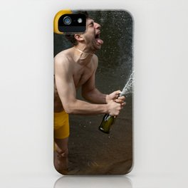 Champagne Coast iPhone Case