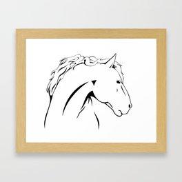 Horse Power Framed Art Print