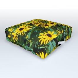 Sun Flowers Outdoor Floor Cushion
