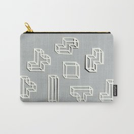 Tetris Papercut Carry-All Pouch