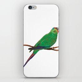 Swift Green Parrot iPhone Skin