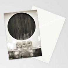 Jizo in Black and White, Kyoto Stationery Cards