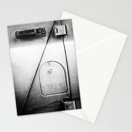 Russian Soviet Vehicle Door and Lock BW Stationery Cards