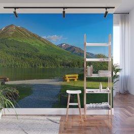 Summit Lake - Kenai Peninsula, Alaska Wall Mural