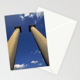 Columns Under Sky Stationery Cards