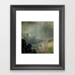 Flying Higher Framed Art Print