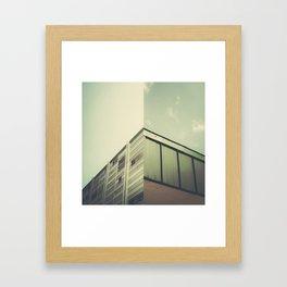 Half and Half - 1 Framed Art Print
