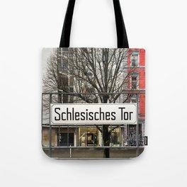 Berlin U-Bahn Memories - Schlesisches Tor Tote Bag