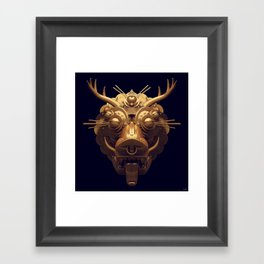 Golden Diety Framed Art Print