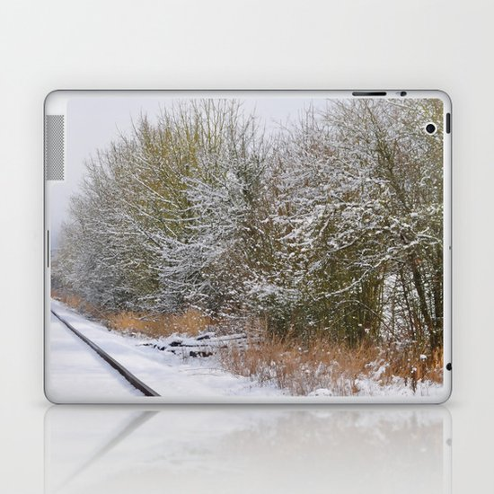 Remnants of a Simpler Time - The Tracks Laptop & iPad Skin