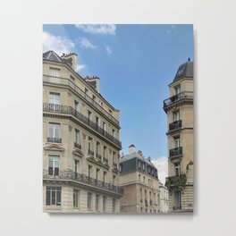 Paris stories Metal Print