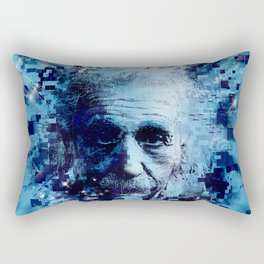 Albert Einstein 2 Rectangular Pillow