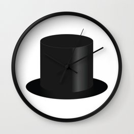 Top Hat Wall Clock