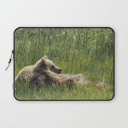 Drifting Off - Bear Cubs, No. 7 Laptop Sleeve