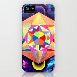 Metatron's Cube iPhone Case