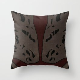 Coronary Contemporary 5 Throw Pillow